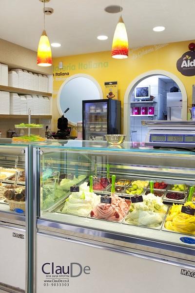 מודרני גלידה אלדו זכיינות KN-78